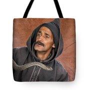 Marrakech Snake Charmer Tote Bag