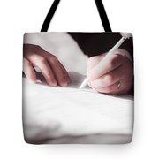 Marriage Certificate Tote Bag