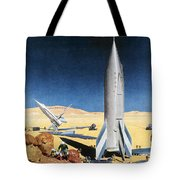 Mars Mission, 1950s Tote Bag