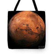 Mars The Red Planet Tote Bag