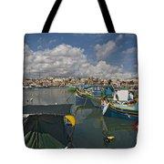 Marsaxlokk Tote Bag