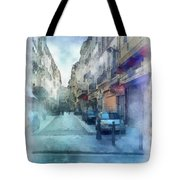 Marseille Back Street Tote Bag