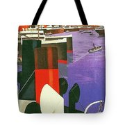 Marseille, City Harbor, France Tote Bag
