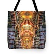 Marseille, France, Inside Of Notre-dame De La Garde Catholic Basilica Tote Bag