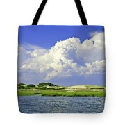 Marsh And Dunes Tote Bag