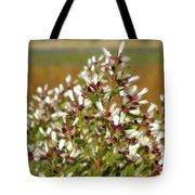 Marsh Blooms Tote Bag