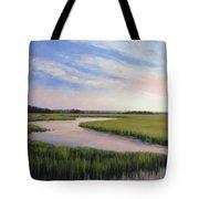 Marsh Blush Tote Bag