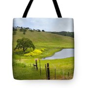 Marsh Creek Road Tote Bag