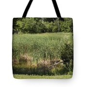 Marsh Grass Tote Bag
