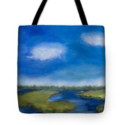 Marsh In The Low Country Tote Bag