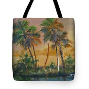 Marsh In The Morning Tote Bag