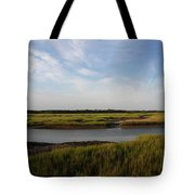 Marsh Scene Charleston Sc Tote Bag