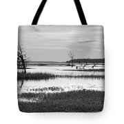 Marsh Skeletons Tote Bag