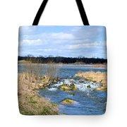 Marsh Spill Way Tote Bag