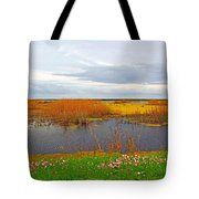 Marsh Spring Tote Bag