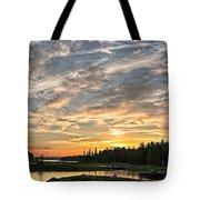 Marsh Sunset Tote Bag
