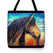 Marsh Tacky Wild Horse Tote Bag
