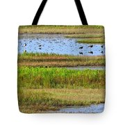 Marsh Tide Pool Tote Bag