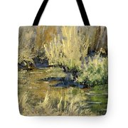 Marsh Twilight Tote Bag