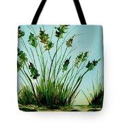 Marsh Weeds Tote Bag