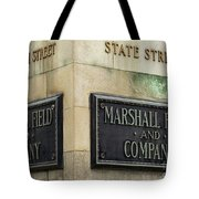 Marshal Field And Company Tote Bag