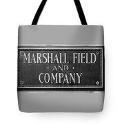 Marshall Field Plaque Tote Bag