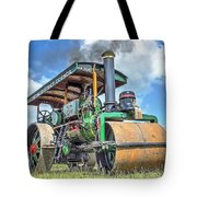 Marshall Steam Roller Tote Bag