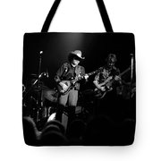 Marshall Tucker Winterland 1975 #12 Enhanced Bw Tote Bag