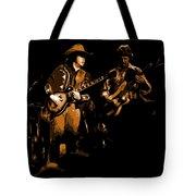 Marshall Tucker Winterland 1975 #17 Enhanced In Amber Tote Bag
