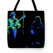 Marshall Tucker Winterland 1975 #18 Enhanced In Cosmicolors #2 Tote Bag