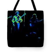 Marshall Tucker Winterland 1975 #18 Enhanced In Cosmicolors Tote Bag