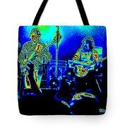Marshall Tucker Winterland 1975 #18 In Special Cosmicolors Tote Bag