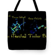Marshall Tucker Winterland 1975 #19 Enhanced In Cosmicolors With Text Tote Bag