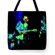 Marshall Tucker Winterland 1975 #23 Enhanced In Cosmicolors Tote Bag