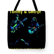 Marshall Tucker Winterland 1975 #36 Enhanced In Cosmicolors With Text Tote Bag