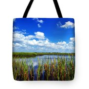 Marsh Lands Tote Bag