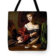 Martha And Mary Magdalen Tote Bag