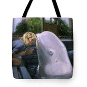 Martha Listens Tote Bag