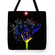 Martian Flower Tote Bag