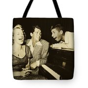 Martin, Lewis, And Clooney Tote Bag