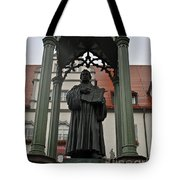Martin Luther In Market Square Tote Bag