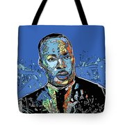 Martin Luther King Color Tote Bag