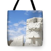 Martin Luther King Dc Memorial Tote Bag