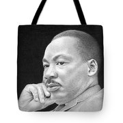 Martin Luther King, Jr Tote Bag