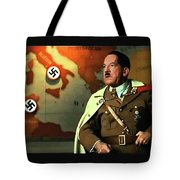 Martin Wuttke As Adolf Hitler Number One Inglourious Basterds 2009 Color Added 2016 Tote Bag