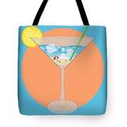 Martini Beach Tote Bag
