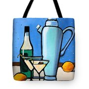 Martini Night Tote Bag