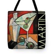 Martini Poster Tote Bag