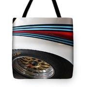 Martini Racing Lines Tote Bag
