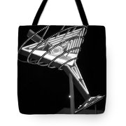 Martini Sign B-w Tote Bag